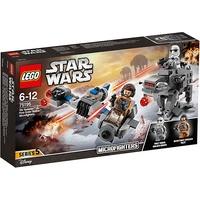 Lego Star Wars Ski Speeder vs. First Order Walker Microfighters (75195)