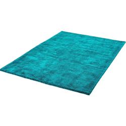 Teppich My Breeze of Obsession 150, Obsession, rechteckig, Höhe 19 mm, Uniteppich blau 200 cm x 290 cm x 19 mm