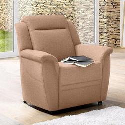 sit&more Sessel, auf Rollen braun