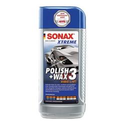 SONAX XTREME Polish+Wax 3 Hybrid NPT 500 ml für Kratzer/Abnutzungen im Lack