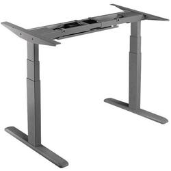 elktr. Schreibtischgestell 3 Stufen grau