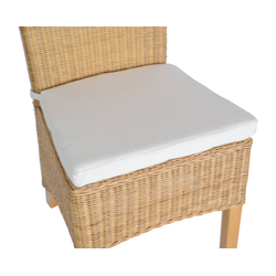 Sitzkissen für Stuhl 100% Baumwolle
