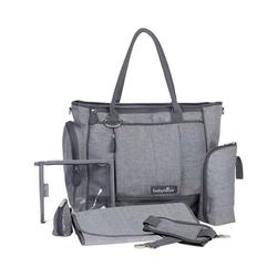 BABYMOOV Wickeltasche Wickeltasche Essential Bag, grau meliert grau
