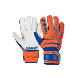 Reusch Torwarthandschuhe mit praktischem Armband orange 6
