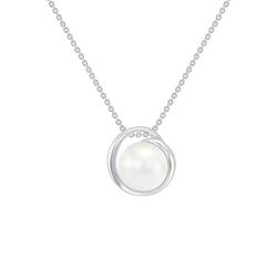 Goldene Perlenkette Eliena