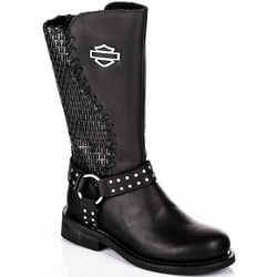 Harley Davidson Stiefel Damen Boots Aimee schwarz
