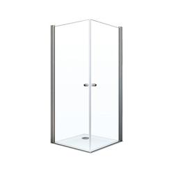Breuer® Dusche »Elana 6«, Eckeinstieg mit Drehtür, 2-türig, 80 x 80 cm
