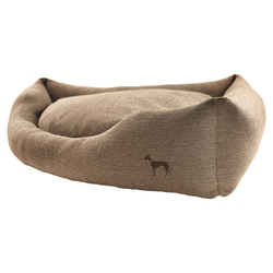 Hunter Hunde-Ecksofa Livingston braun, Maße: 95 x 95 cm