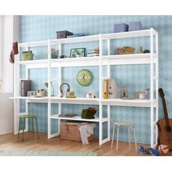 Hoppekids Jugendzimmer-Set Skagen, (Set, 20-tlg), inkl. Schreibtisch