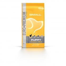 Euro Premium Small Puppy Huhn & Reis Hundefutter 12 kg