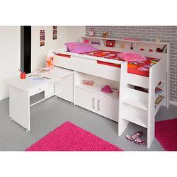 Multifunktionshochbett mit Schreibtisch