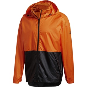 adidas Herren Jacke Urban Wind.Rdy Jacke, Orange/Black, S, GE2083