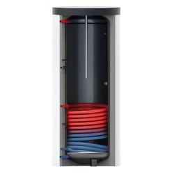 Warmwasserspeicher 500l inkl. 1x Wärmetauscher - Klasse A