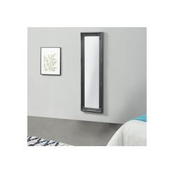en.casa Wandspiegel, Livorno Ganzkörperspiegel 132x42cm Antik Spiegel grau grau