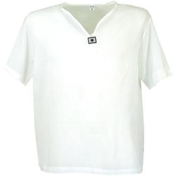 Guru-Shop Hemd & Shirt Yoga Hemd, Goa Hemd, Kurzarm, Männerhemd,.. M