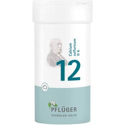 BIOCHEMIE Pflüger 12 Calcium sulfuricum D 6 Pulver 100 g