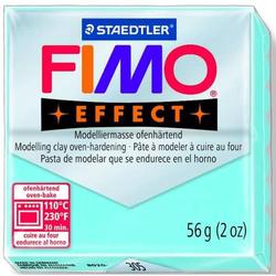 Modelliermasse Fimo effect Kunststoff 56g aqua Normalblock