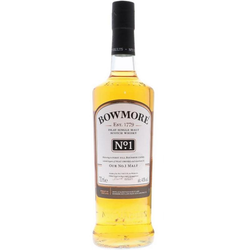 Bowmore No. 1 0,7L (40% Vol.) mit Gravur