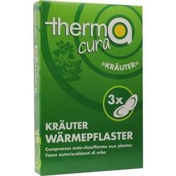 THERMACURA Kräuter Pflaster 3 St