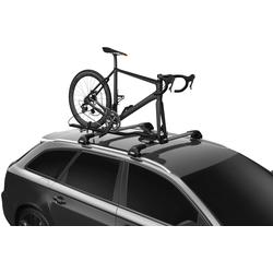 Thule Dachfahrradträger TopRide, für den Transport von 1 Fahrrad schwarz Fahrradträger Autozubehör Reifen