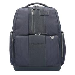 Piquadro Brief Business Rucksack 42 cm Laptopfach blue