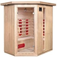 Home Deluxe Infrarotkabine Redsun XL BxTxH: 155 x 120 x 190 cm, 50 mm, für bis zu 3 Personen