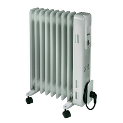 Ölradiator  2.000W, mit Thermostat