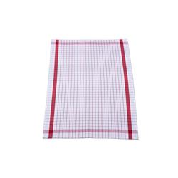 Ross Geschirrtuch in rot mit Karo-Muster, 50 x 70 cm