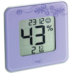 TFA Dostmann Style Thermo-/Hygrometer Lila