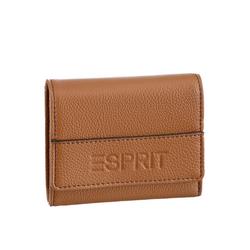 Esprit Geldbörse, im praktischem Format braun