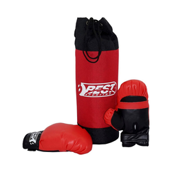 Best Sporting Boxsack Box-Set für Kinder, Boxsack & Boxhandschuhe