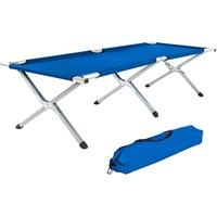 Tectake Feldbett 2er Pack blau (402004)