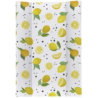 Rotho Babydesign Wickelauflage Lemon Chill, Keilform; Made in Europe