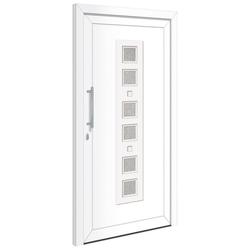 RORO Türen & Fenster Haustür Otto 9, BxH: 110x210 cm, weiß, ohne Griff