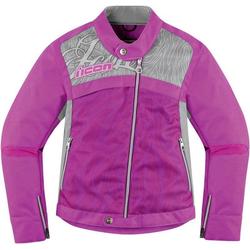 Icon Hella 2 Dames textiel jas, pink, XL Voordonne