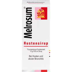 MELROSUM Hustensirup 100 ml