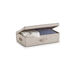 HTI-Living Aufbewahrungsbox Aufbewahrungsbox mit Deckel Stripes, Aufbewahrungsbox 61.5 cm x 16.5 cm x 38 cm