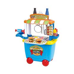 Playgo Spielgeschirr Ggourmet Burger Cart - 36 tlg.