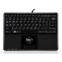 Perixx PERIBOARD-502 Plus Tastatur USB QWERTY Schwarz