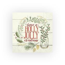 VBS Papierserviette Holly Jolly Christmas, (20 St), 33 cm x 33 cm
