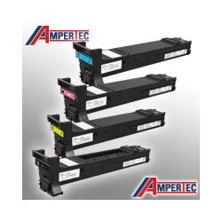 4 Ampertec Toner für KM Bizhub C20  Farben nach Wahl