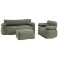 Outwell Laze Aufblasbares Sofa Grün