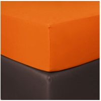 BETTWARENSHOP BETTWARENSHOP, Boxspring, Matratzen orange 180-200 cm x 200-220 cm