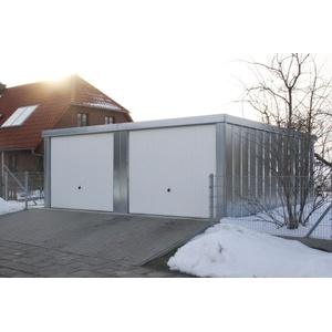 Doppelgarage Basic BS1N-57 5,23 m x 5,62 m x 2,18m Gerätehaus Garagen NEU
