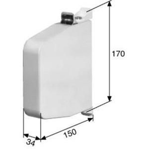 PIVO Aufschraub-Gurtwickler 120502 weiß