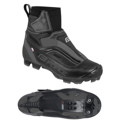FORCE MTB ICE, Winter Fahrrad Schuhe, Wasserdicht Fahrradschuh 45