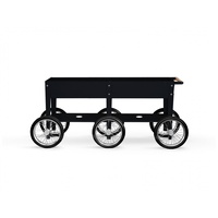 Herstera Wheels 150 x 35 x 80 cm schwarz