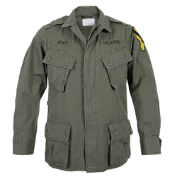 Mil-Tec US Jungle Jacket M64 Vietnam oliv, Größe S