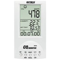 Extech CO220 Kohlendioxid-Messgerät 0 - 9999 ppm