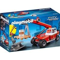 Playmobil City Action Feuerwehr-Teleskoplader 9465